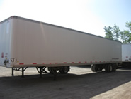 53 foot trailer for rent.